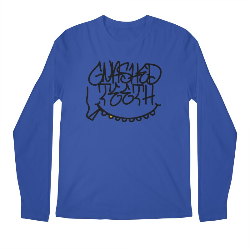 Gnashed Handstyle Men's Regular Longsleeve T-Shirt by The Gnashed Teethery