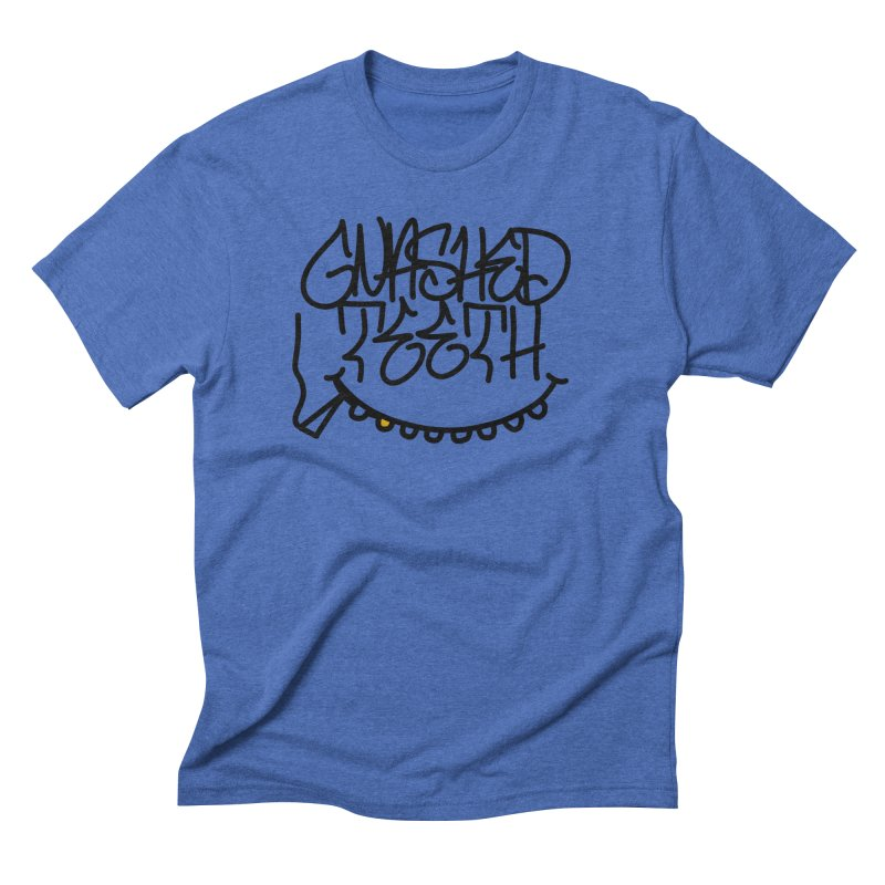 Gnashed Handstyle Men's Triblend T-Shirt by The Gnashed Teethery