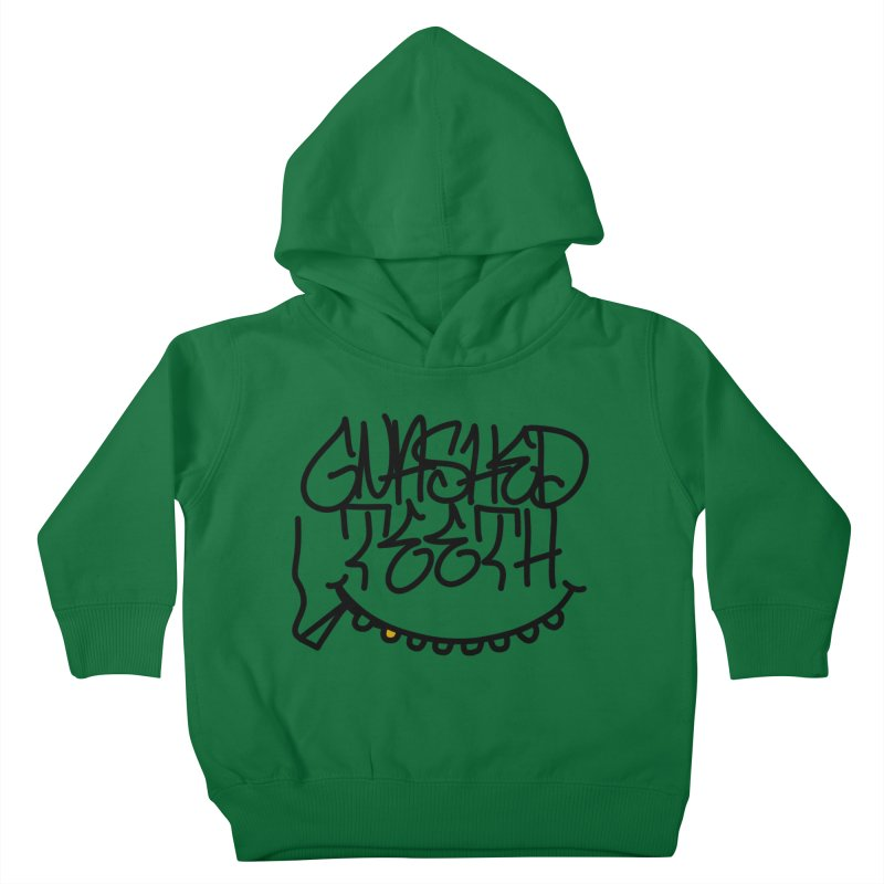 Gnashed Handstyle Kids Toddler Pullover Hoody by The Gnashed Teethery