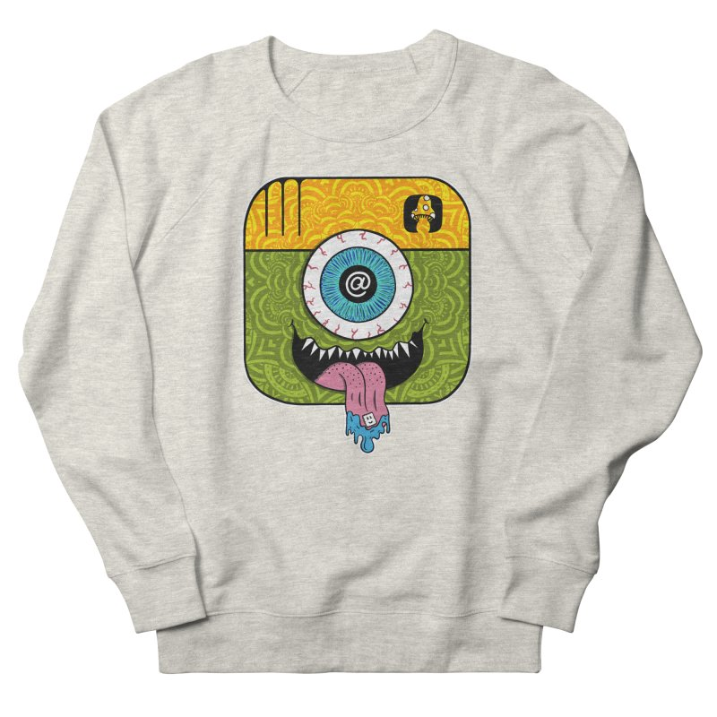 Tripstagram Men's French Terry Sweatshirt by The Gnashed Teethery