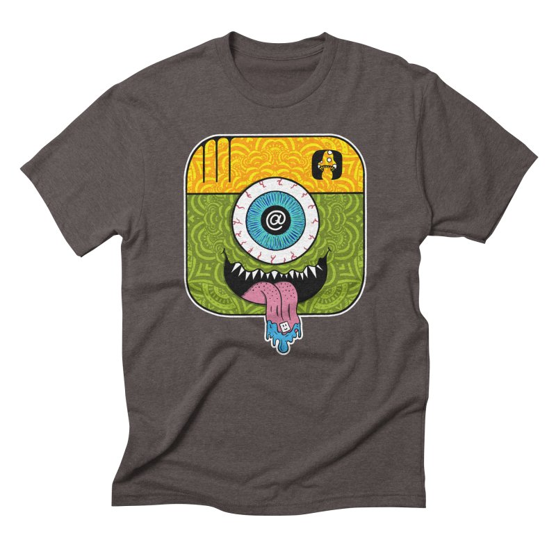 Tripstagram Men's Triblend T-Shirt by The Gnashed Teethery