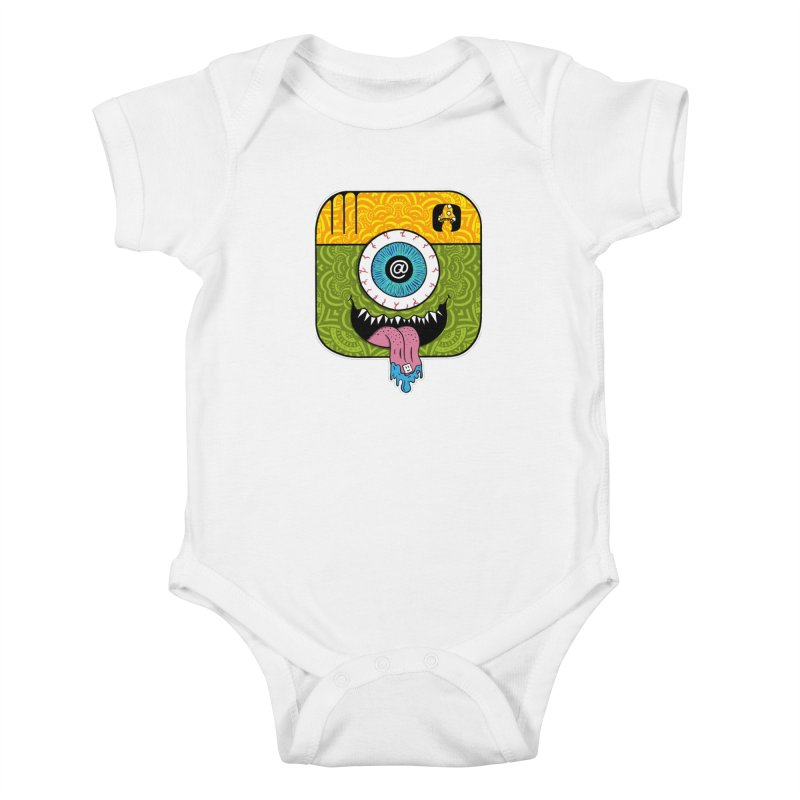 Tripstagram Kids Baby Bodysuit by The Gnashed Teethery