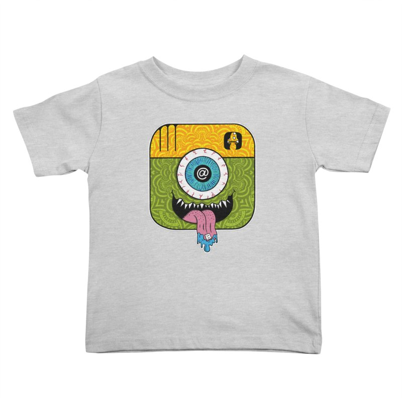 Tripstagram Kids Toddler T-Shirt by The Gnashed Teethery