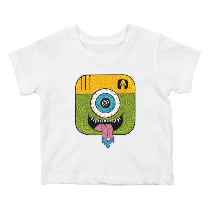 Tripstagram Kids Baby T-Shirt by The Gnashed Teethery