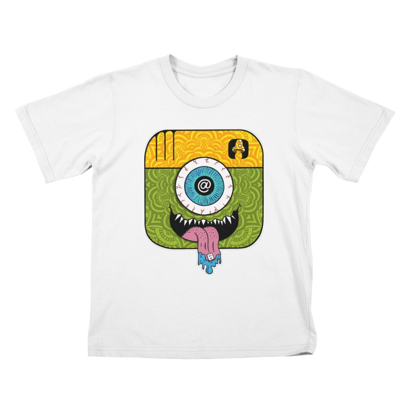 Tripstagram Kids T-Shirt by The Gnashed Teethery