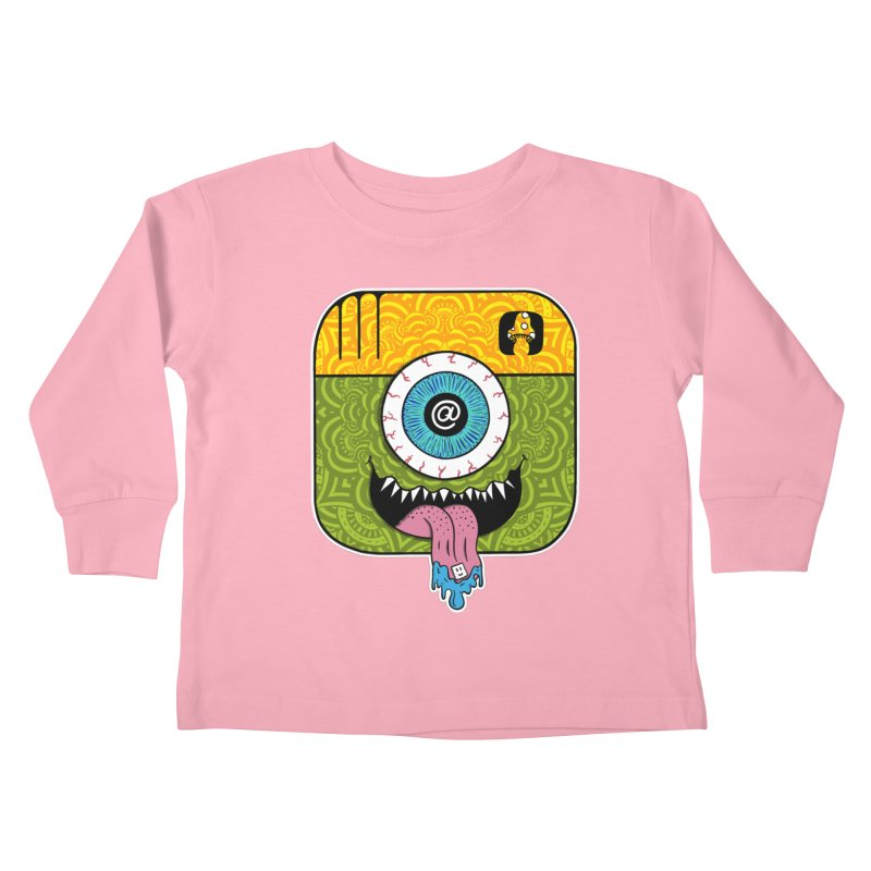 Tripstagram Kids Toddler Longsleeve T-Shirt by The Gnashed Teethery