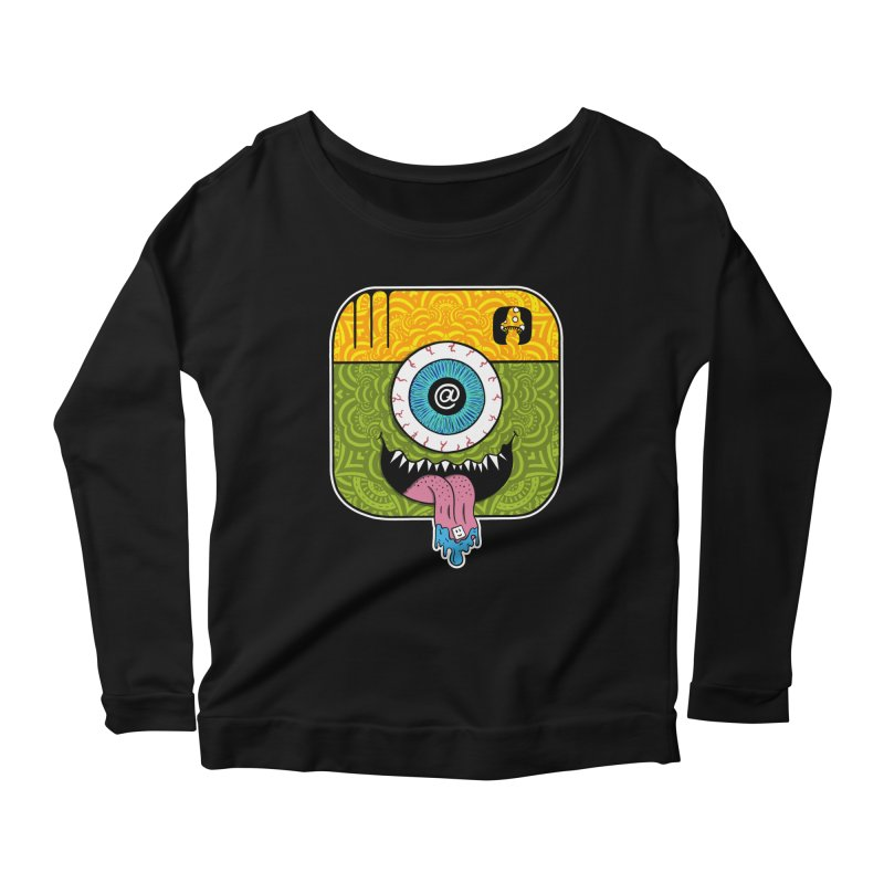 Tripstagram Women's Scoop Neck Longsleeve T-Shirt by The Gnashed Teethery