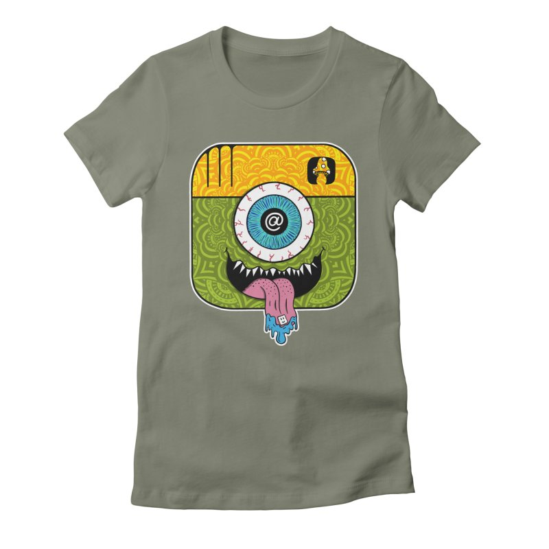 Tripstagram Women's Fitted T-Shirt by The Gnashed Teethery