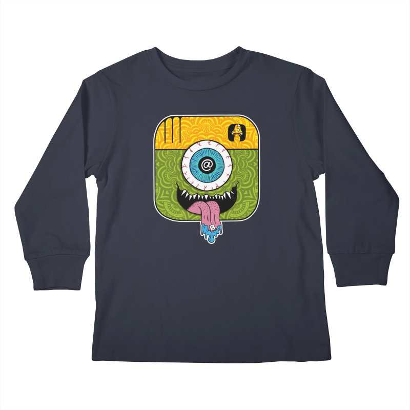 Tripstagram Kids Longsleeve T-Shirt by The Gnashed Teethery