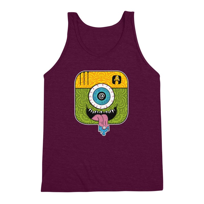 Tripstagram Men's Triblend Tank by The Gnashed Teethery