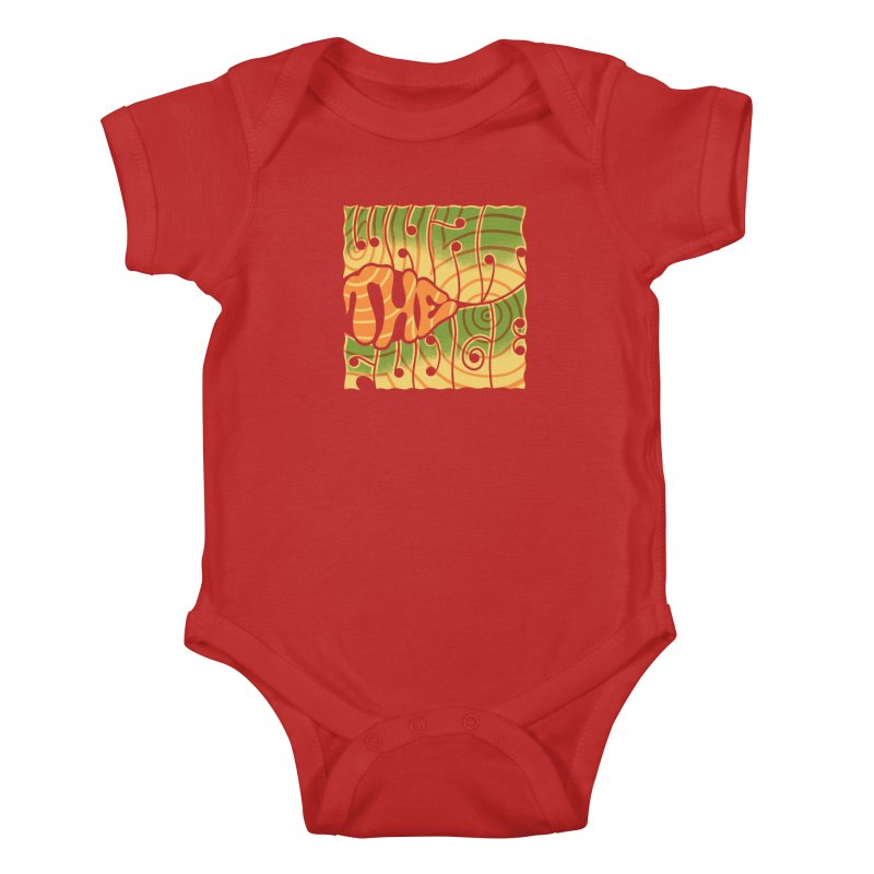 What the Fudge?! Kids Baby Bodysuit by The Gnashed Teethery