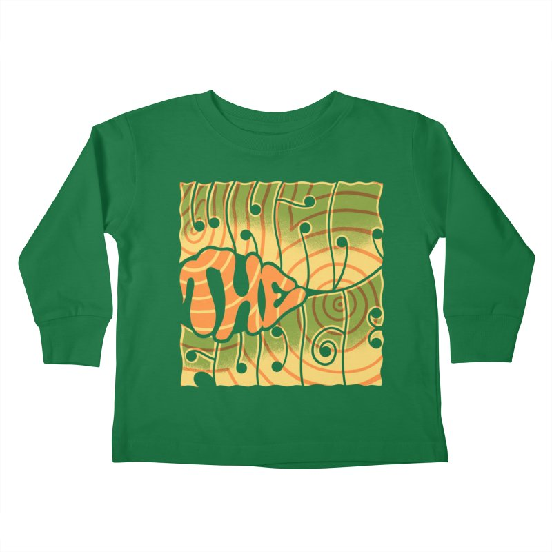 What the Fudge?! Kids Toddler Longsleeve T-Shirt by The Gnashed Teethery