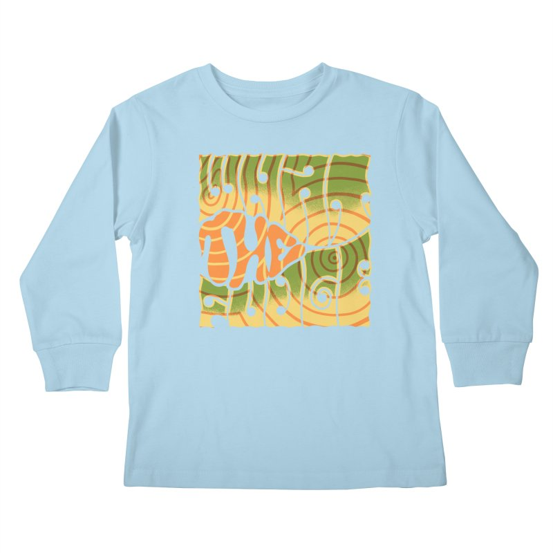 What the Fudge?! Kids Longsleeve T-Shirt by The Gnashed Teethery