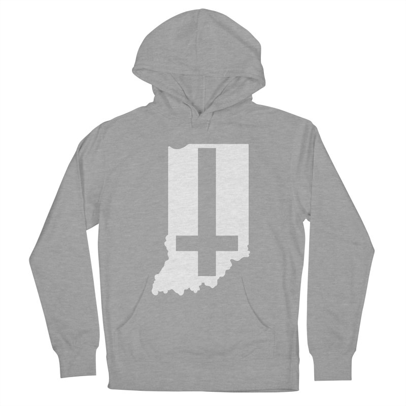 My Indiana Men's French Terry Pullover Hoody by The Gnashed Teethery