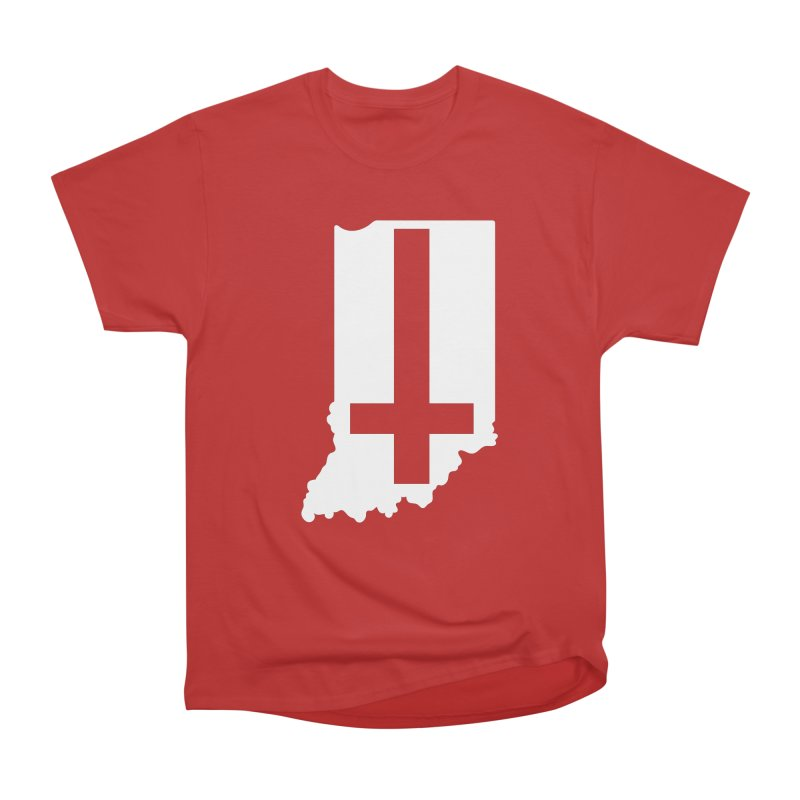 My Indiana Women's Heavyweight Unisex T-Shirt by The Gnashed Teethery
