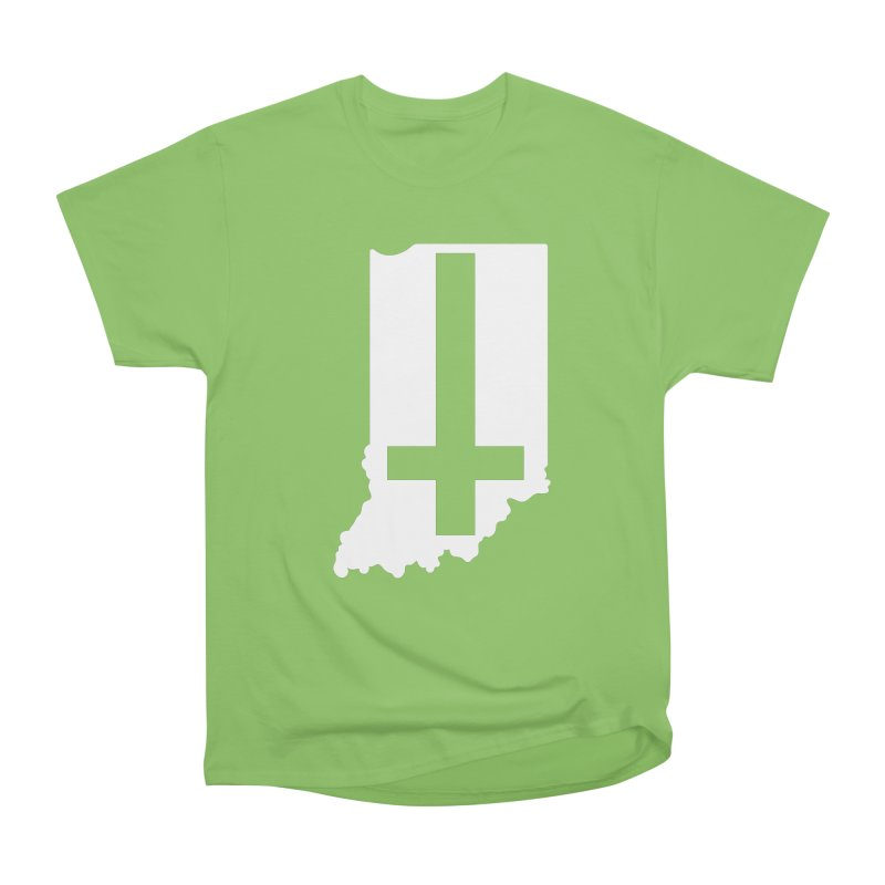 My Indiana Men's Heavyweight T-Shirt by The Gnashed Teethery