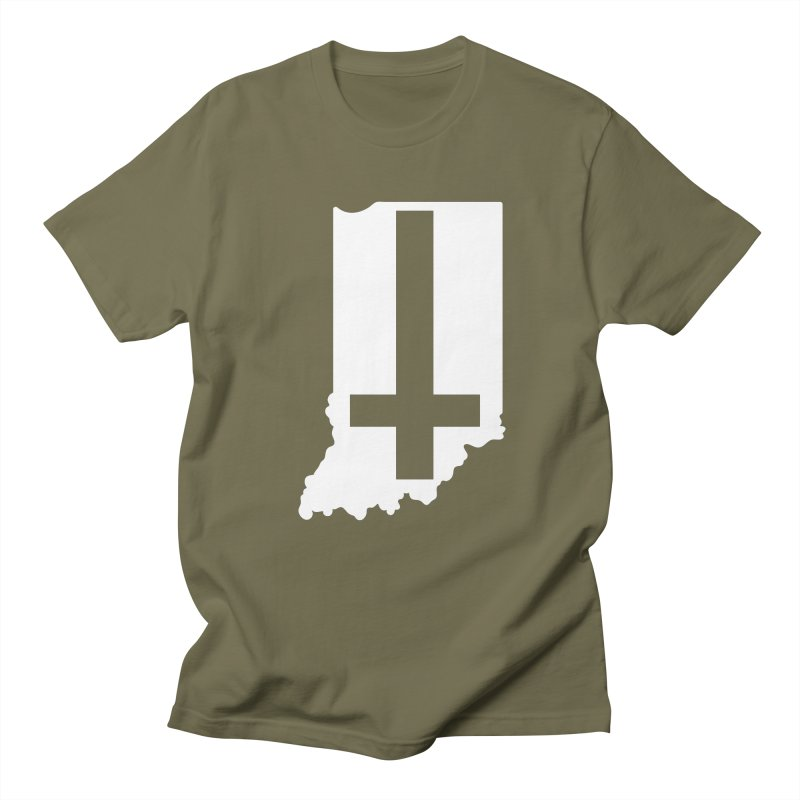 My Indiana Men's Regular T-Shirt by The Gnashed Teethery