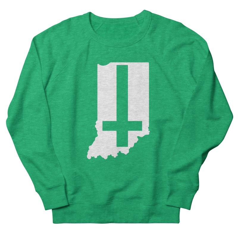 My Indiana Men's French Terry Sweatshirt by The Gnashed Teethery