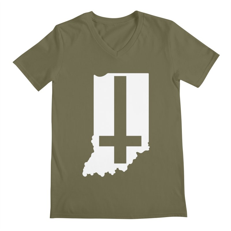 My Indiana Men's Regular V-Neck by The Gnashed Teethery