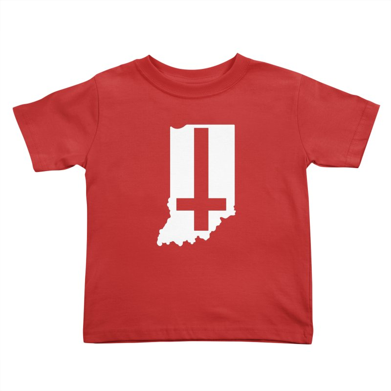 My Indiana Kids Toddler T-Shirt by The Gnashed Teethery