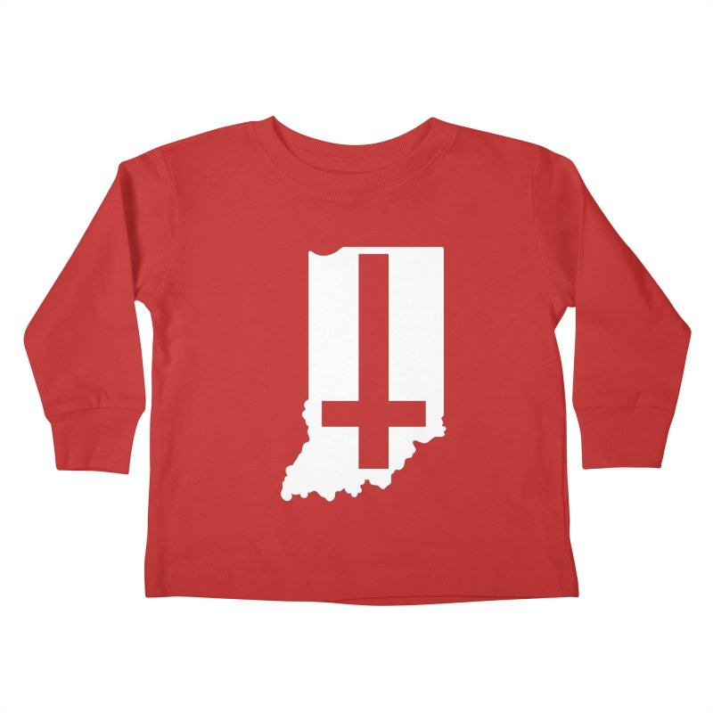 My Indiana Kids Toddler Longsleeve T-Shirt by The Gnashed Teethery