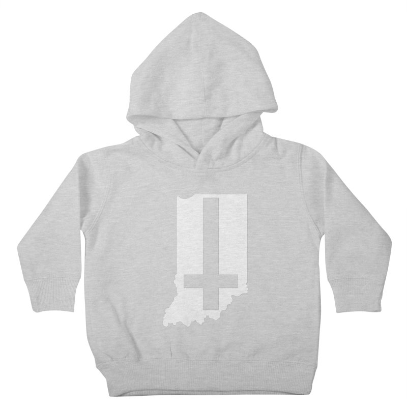My Indiana Kids Toddler Pullover Hoody by The Gnashed Teethery