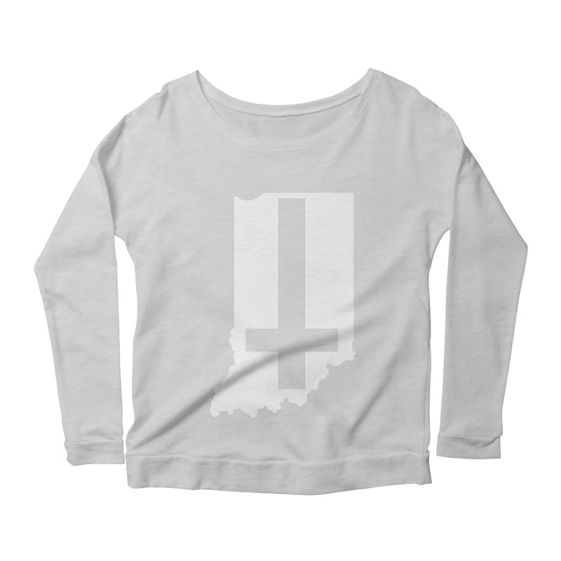 My Indiana Women's Scoop Neck Longsleeve T-Shirt by The Gnashed Teethery