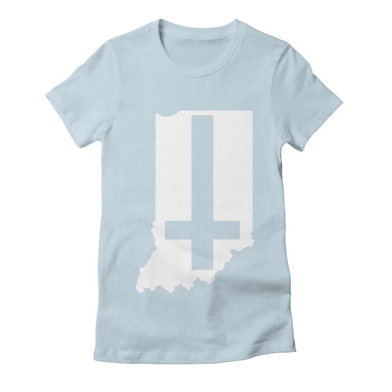 My Indiana Women's Fitted T-Shirt by The Gnashed Teethery