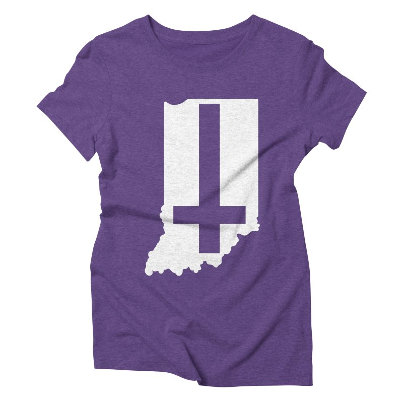 My Indiana Women's Triblend T-Shirt by The Gnashed Teethery