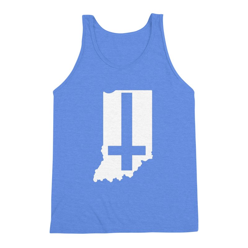 My Indiana Men's Triblend Tank by The Gnashed Teethery