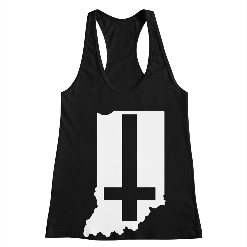 My Indiana Women's Racerback Tank by The Gnashed Teethery