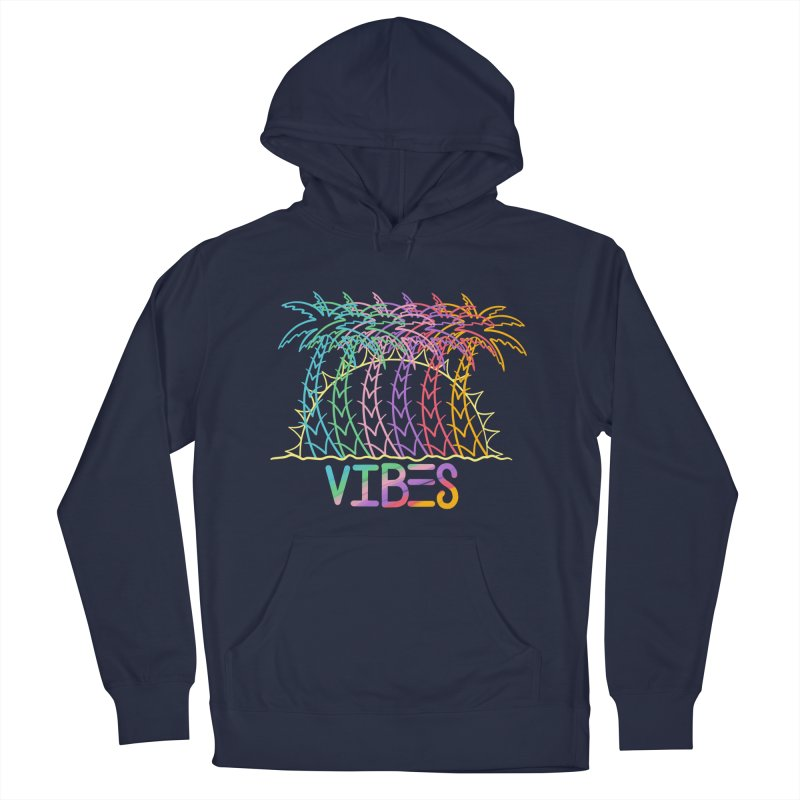 Vibes Men's French Terry Pullover Hoody by The Gnashed Teethery