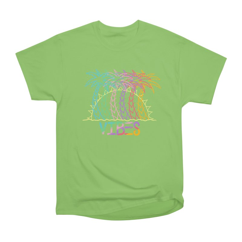 Vibes Men's Heavyweight T-Shirt by The Gnashed Teethery