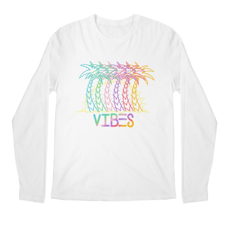 Vibes Men's Regular Longsleeve T-Shirt by The Gnashed Teethery