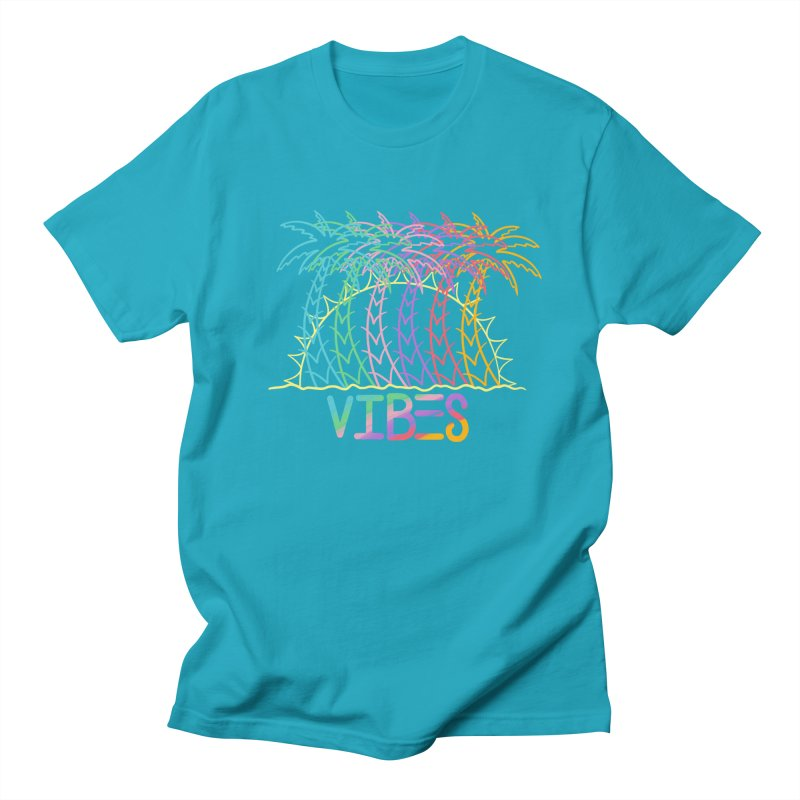 Vibes Men's Regular T-Shirt by The Gnashed Teethery