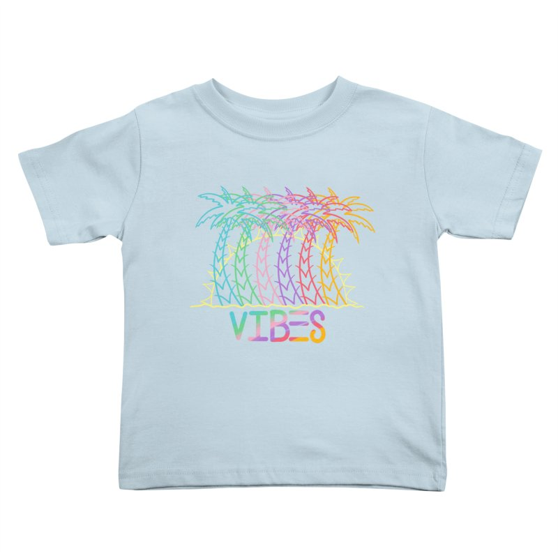 Vibes Kids Toddler T-Shirt by The Gnashed Teethery