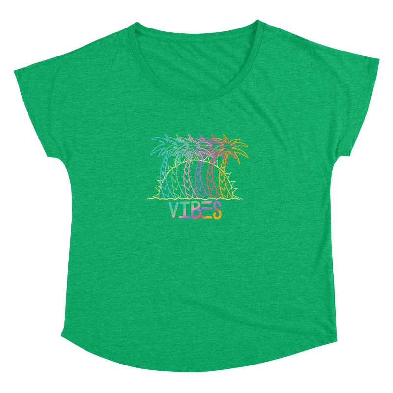 Vibes Women's Dolman Scoop Neck by The Gnashed Teethery