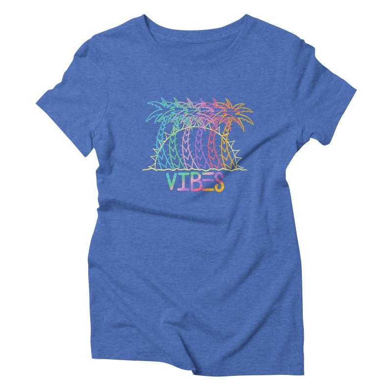 Vibes Women's Triblend T-Shirt by The Gnashed Teethery