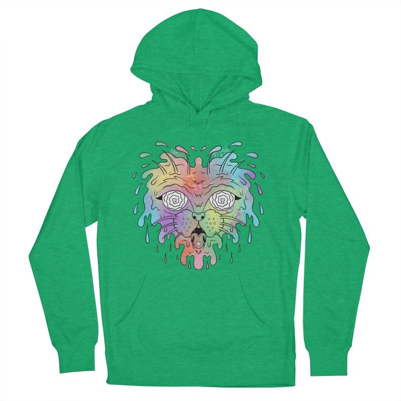 Acid Cat Women's French Terry Pullover Hoody by The Gnashed Teethery