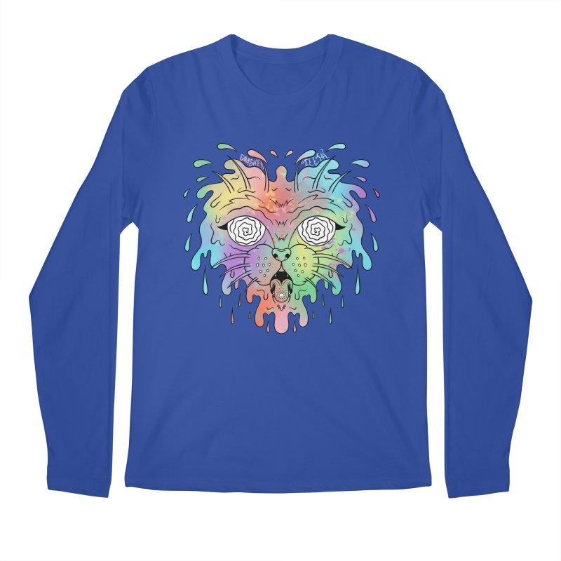 Acid Cat Men's Regular Longsleeve T-Shirt by The Gnashed Teethery