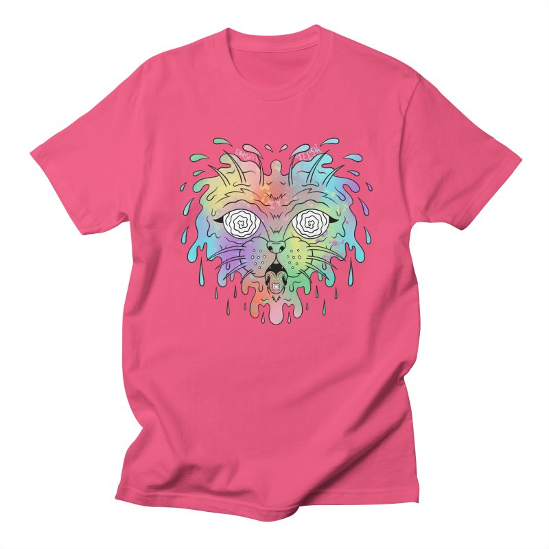 Acid Cat Women's Regular Unisex T-Shirt by The Gnashed Teethery