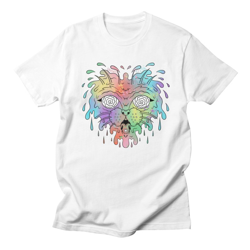Acid Cat Men's Regular T-Shirt by The Gnashed Teethery
