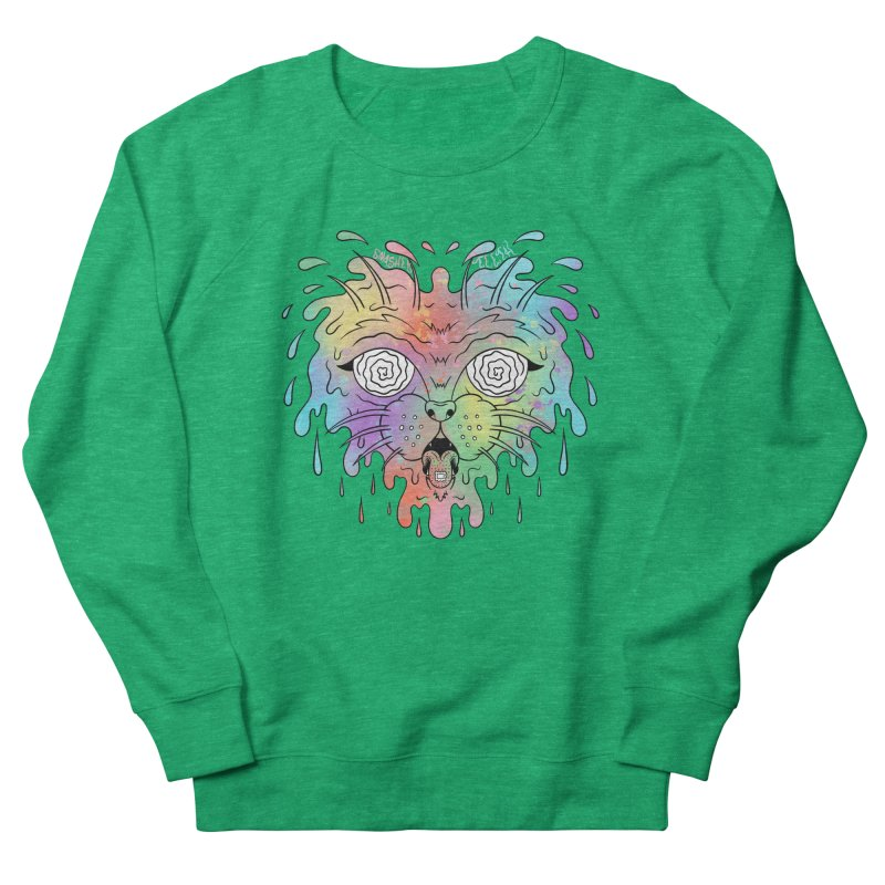 Acid Cat Men's French Terry Sweatshirt by The Gnashed Teethery