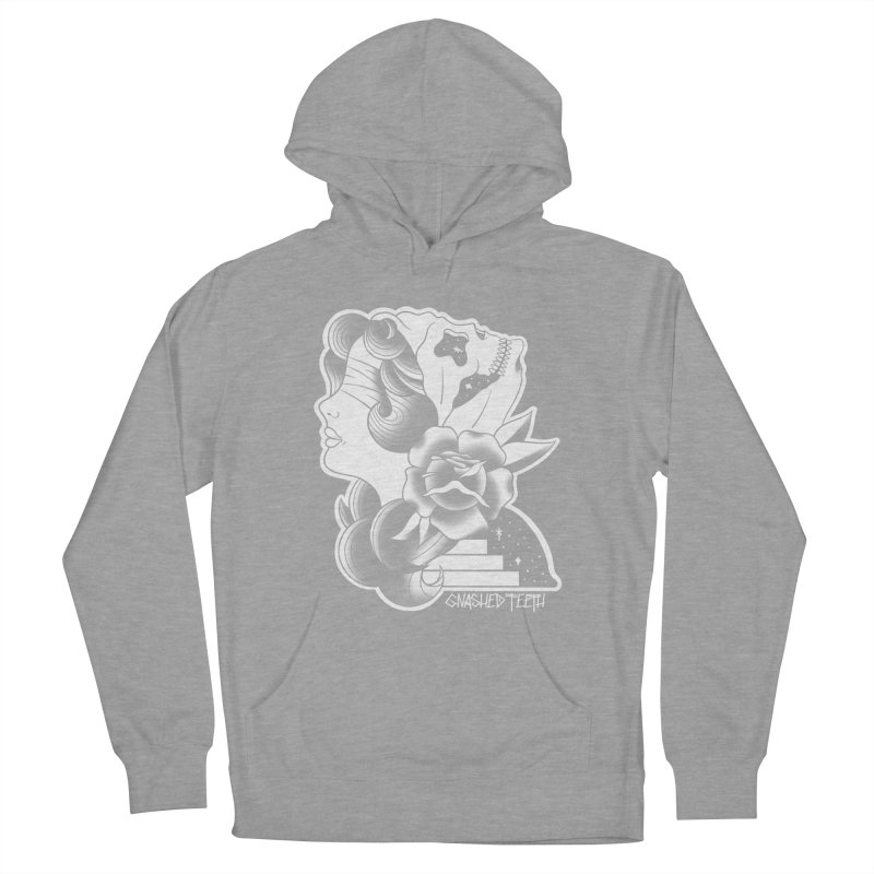 Witchy Woman Men's French Terry Pullover Hoody by The Gnashed Teethery