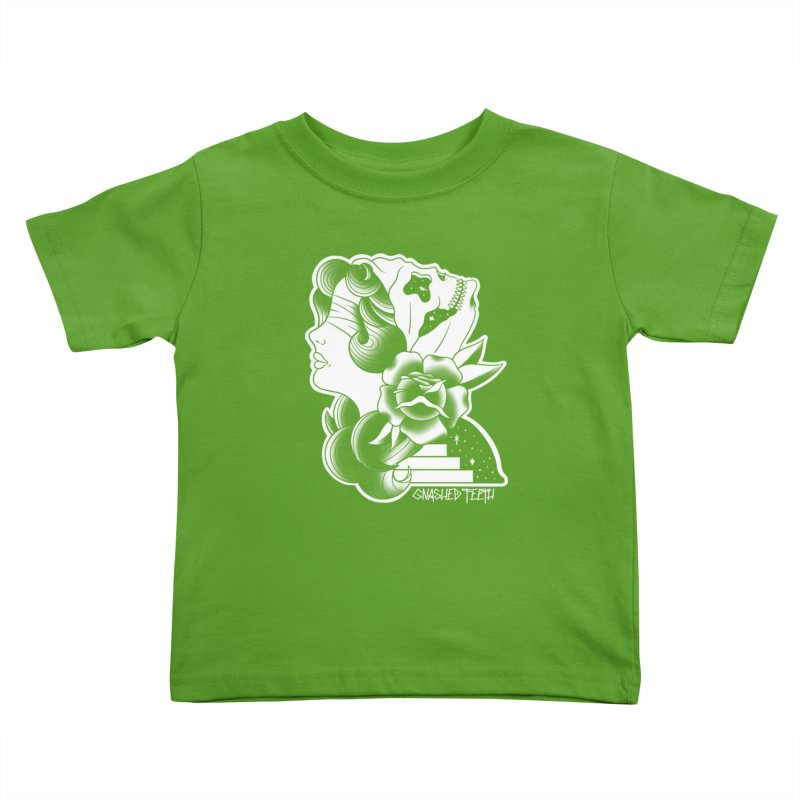 Witchy Woman Kids Toddler T-Shirt by The Gnashed Teethery
