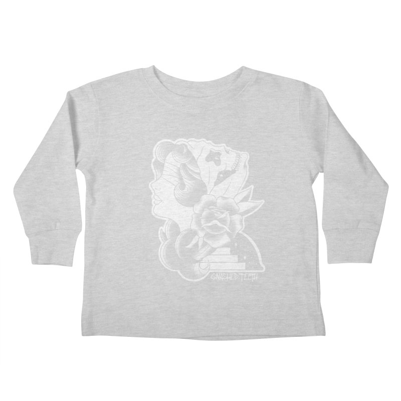 Witchy Woman Kids Toddler Longsleeve T-Shirt by The Gnashed Teethery