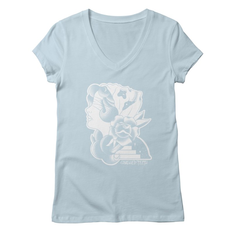 Witchy Woman Women's Regular V-Neck by The Gnashed Teethery
