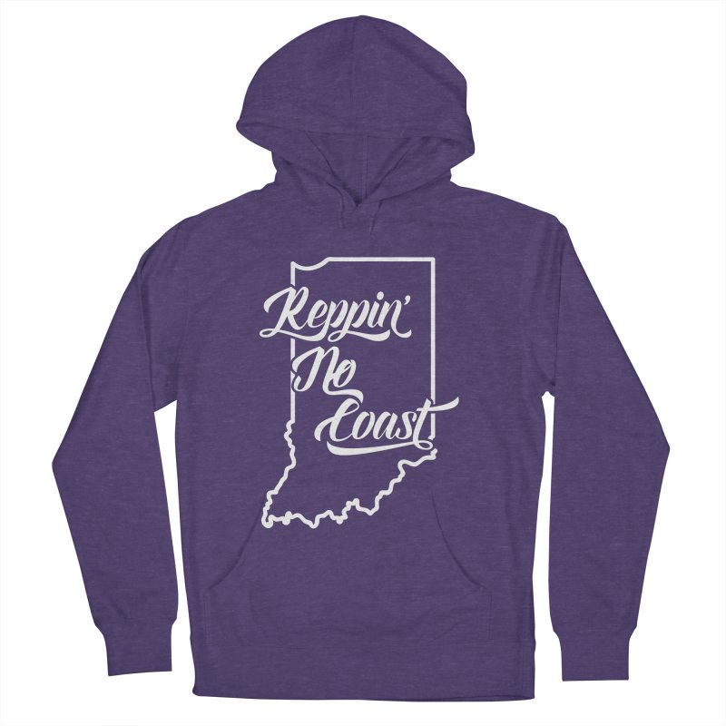 Reppin No Coast Men's French Terry Pullover Hoody by The Gnashed Teethery