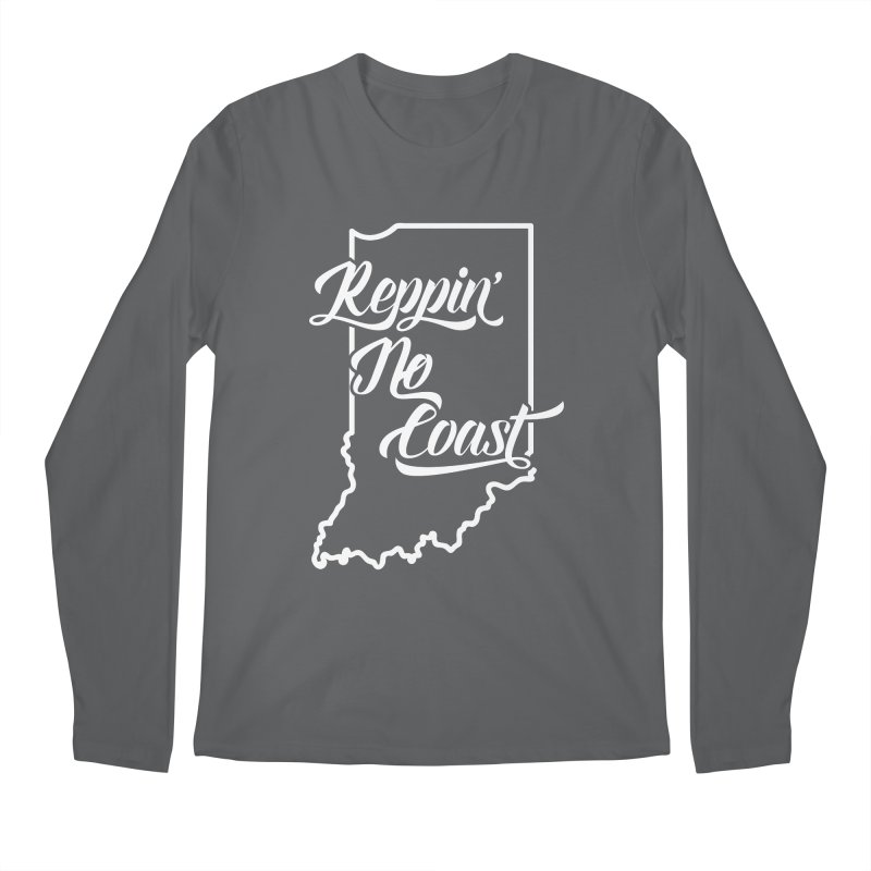 Reppin No Coast Men's Regular Longsleeve T-Shirt by The Gnashed Teethery