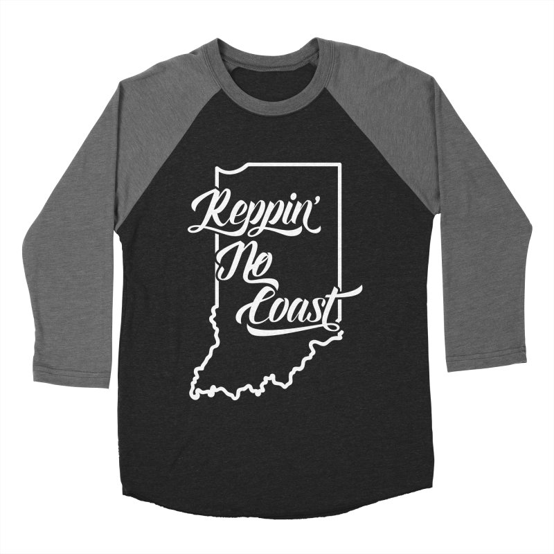Reppin No Coast Women's Baseball Triblend Longsleeve T-Shirt by The Gnashed Teethery